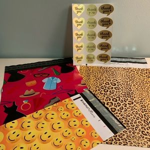 Other - (45 piece total) Poly Mailer Assorted Size BUNDLE2
